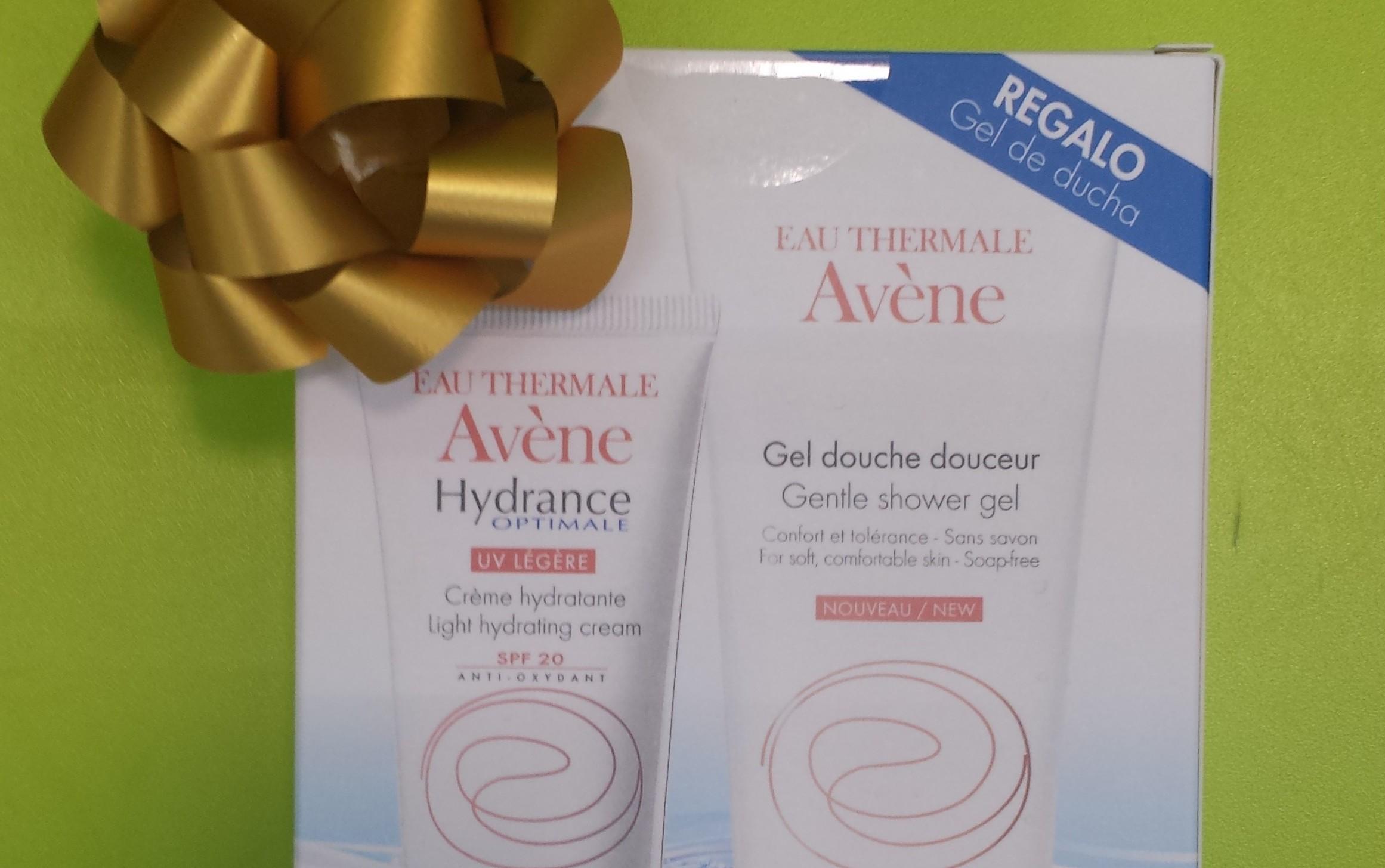 Pack gel de ducha y crema hidratante Avène