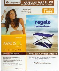 arkosol-advance-pieles-claras-30-caps